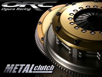 ORC クラッチ METALシリーズ 409 メタルシングル ダンパー付 プッシュ式 ORC-409D-06N スカイライン/フェアレディZ Z33,V35 VQ35DE 【smtb-F】