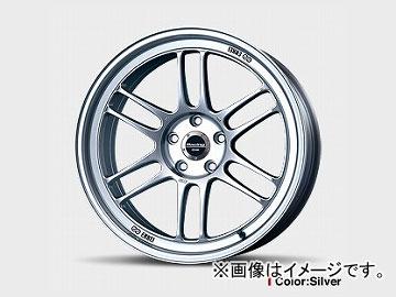 【50%OFF】 エンケイ/ENKEI ホイール Racing RPF1 国産車用 17インチ サイズ:9 1/2J INSET:38 H-P.C.D.:5-114.3 穴径:φ73 カラー:Silver, 種市町 c01261c5