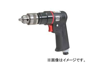 エス.ピー.エアー/SP AIR ドリル 正逆回転機構付 10mm用 SP-7525