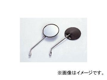 2輪 NTB バックミラー 永遠の定番モデル ホンダ 感謝価格 黒 メッキステ- 丸 MR-102 m 8m