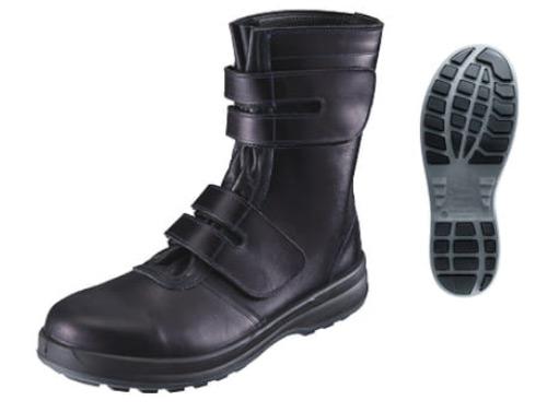 シモン/Simon 安全靴 SX3層底 トリセオ 8538 黒 サイズ:23.5~28