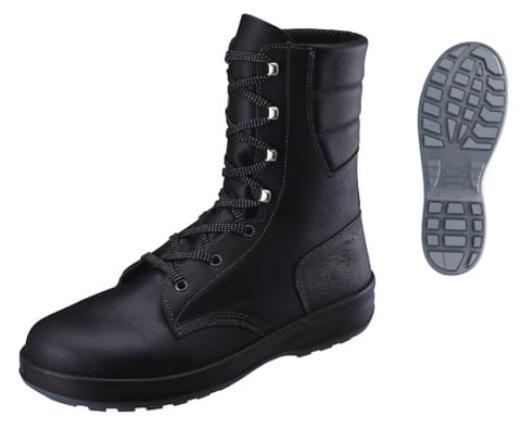 シモン/Simon 安全靴 SX3層底 シモンスター SS33 黒 サイズ:23.5~28/29