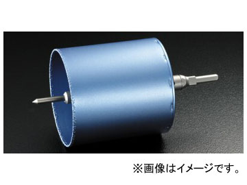ユニカ/unika コアドリル 塩ビ管用コアドリル ブレイズダイヤ/BRAZE DIAMOND VPCタイプ ストレートシャンク 120mm BZ-VPC120ST JAN:4989270370029