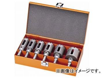 ユニカ/unika ホールソー 超硬ホールソー メタコア(TOOL BOX SET) TB-25TN JAN:4989270470965