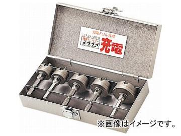 ユニカ/unika ホールソー 超硬ホールソー メタコア充電(TOOL BOX SET) TB-24 JAN:4989270541030