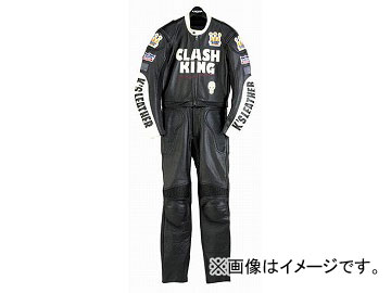 2輪 カドヤ/KADOYA ディフュージョン SUIT-CK STD No.0001 カラー:ブラック×アイボリー