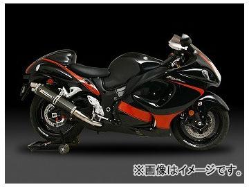 2輪 ヨシムラ マフラー Tri-Ovalチタンサイクロン 2エンド 110-509-8980 TT(チタンカバー) スズキ GSX1300R HAYABUSA カナダ仕様 2008年~2010年