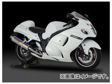 2輪 ヨシムラ マフラー スリップオン Tri-Ovalサイクロン 2エンド EXPORT SPEC 110-509-5H50 SS(ステンレスカバー) スズキ GSX1300R HAYABUSA カナダ仕様