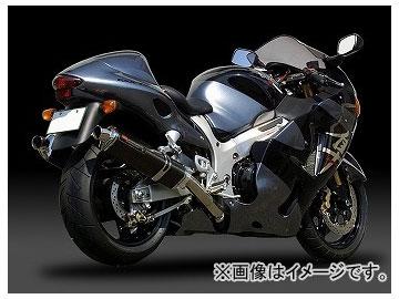 2輪 ヨシムラ マフラー スリップオン Tri-Ovalサイクロン(1エンド) 110-502-5481 ST(チタンカバー) スズキ GSX1300R HAYABUSA 欧州仕様 ~2003年