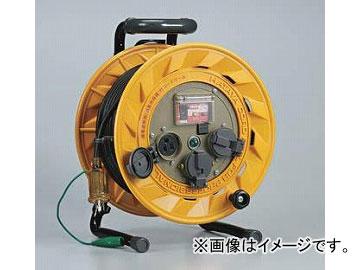 ハタヤリミテッド/HATAYA BR型コードリール 100V型 漏電遮断器付【接地付】 20m BR-201KX JAN:4930510100500 入数:1台