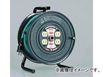 ハタヤリミテッド/HATAYA 極太ケーブル3.5mm^2仕様 アッパーリール 100V型 20m アースグリーン PS-20 JAN:4930510405216 入数:1台