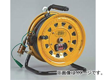 入数:1台 ハタヤリミテッド/HATAYA GB-130K 漏電遮断器付【接地付】 JAN:4930510207650 サンタイガーテモートリール 100V型 30+3m
