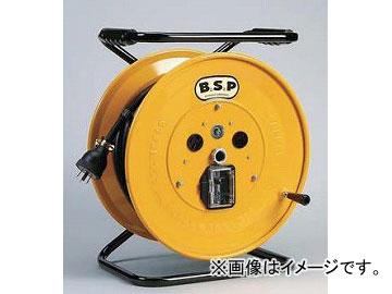 ハタヤリミテッド/HATAYA 大型リール 漏電遮断器付【接地付】 30m BSP-335M JAN:4930510103167 入数:1台