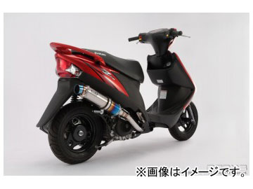 2輪 ビームス R-EVO(レーシングエヴォ) チタンサイレンサー B317-53-007 JAN:4582285331544 スズキ アドレスV125 台湾モデル UZ125X