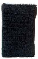 ハタ/HATAS リストバンド パイル No.359 カラー:ブラック サイズ:12cm 入数:2枚組
