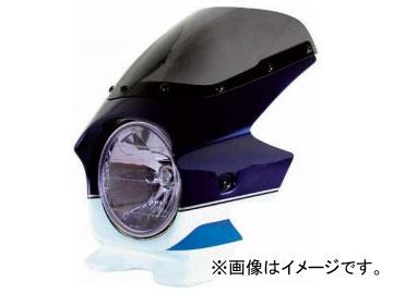 2輪 Nプロジェクト スーパーバイカーズビキニカウル ブラスターII 23225 JAN:4571115622556 STD PSホワイト/PMブルー スズキ GSX1400 2001年