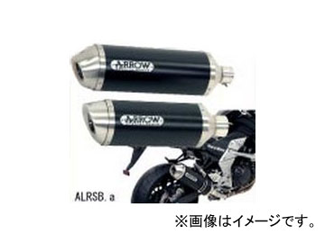 【2018最新作】 2輪 Nプロジェクト アロー エキゾーストシステム Approved AY0032 ALRSB.a アルミサイレンサー スリップオン ヤマハ FZ8/フェザー 2010年, 新田町 7815da50