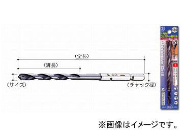 大西工業/ONISHI No.24 6角軸コンクリート用ドリル 12.7mm JAN:4957934221277 入数:6本, 野々市町 2eb97ed7