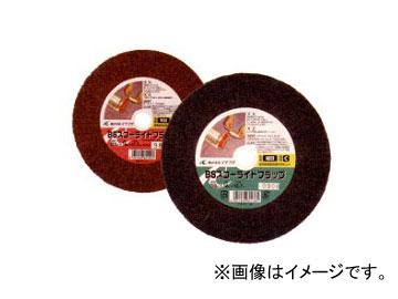 イチグチ/ICHIGUCHI BSスコーライトフラップA 両頭グラインダー用 80132 サイズ(mm):150×16×12.7 粒度:荒目 JAN:4951989801323 入数:5枚入