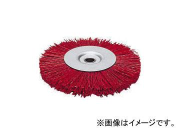 永塚工業/CROWN ホイルブラシ(砥粒入) #60グリット 外径250mm 穴径19.05mm