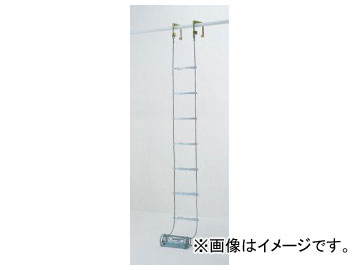 ピカコーポレイション/Pica 避難用 ワイヤーロープはしご(国家検定合格品) ER-43
