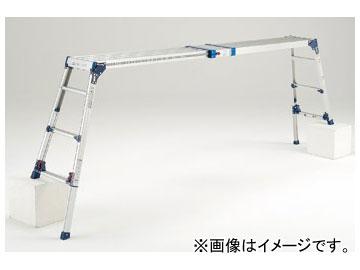 ピカコーポレイション/Pica 四脚アジャスト式足場台 天場スライドタイプ(取手付き) DWV-S120A