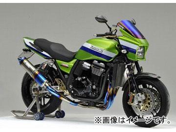 2輪 ケイファクトリー/K-FACTORY FRC チタン フルエキゾースト S-UPタイプ 1本出し カワサキ/KAWASAKI ZRX1200 ダエグ