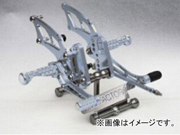 2輪 ケイファクトリー/K-FACTORY ライディングステップ メタリックシルバー カワサキ/KAWASAKI ニンジャ250R