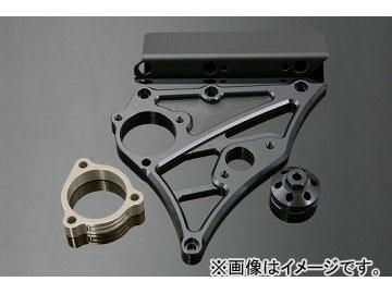 2輪 ケイファクトリー/K-FACTORY フロントスプロケットカバー(スピードメータ取付有り) マットブラック カワサキ/KAWASAKI ZRX1200 ~2009年
