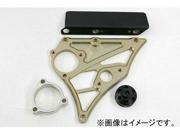 2輪 ケイファクトリー/K-FACTORY フロントスプロケットカバー(スピードメータ取付有り) チタンゴールド カワサキ/KAWASAKI ZRX1200 ~2009年