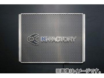 2輪 ケイファクトリー/K-FACTORY ラジエターコアガード ステンレス Aタイプ カワサキ/KAWASAKI ZZR1400 2009年