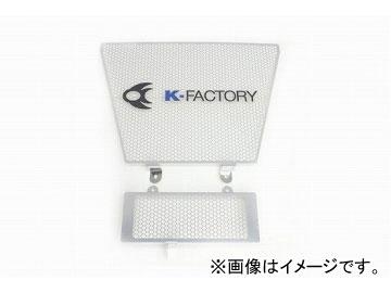 2輪 ケイファクトリー/K-FACTORY ラジエターコアガード Aタイプ(オイルクーラーガード付) スズキ/SUZUKI GSX-R1000 2005年~2006年