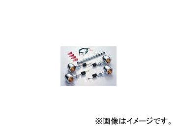 2輪 ハリケーン ミニブレットウインカーkit ステムマウント(パイプステー式) HA5414C-01 JAN:4936887436921 クリア ホンダ JAZZ
