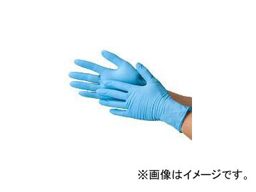 川西工業/KAWANISHI ニトリル極薄手袋・粉なし 100枚入 #2041 ブルー サイズ:SS~L 入数:20箱