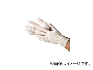 川西工業/KAWANISHI 天然ゴム極薄手袋・粉付 100枚入 #2031 ナチュラル サイズ:SS~L 入数:20箱