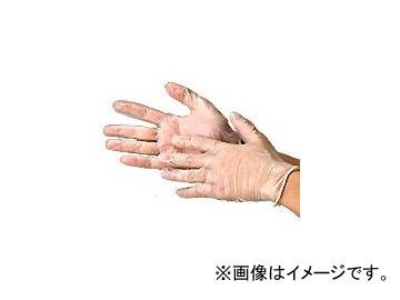 川西工業/KAWANISHI ビニール極薄手袋・粉付 100枚入 #2022 クリア サイズ:SS~L 入数:20箱