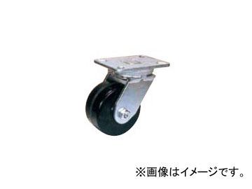 オーエッチ工業/OH スーパーストロングキャスター 超重荷重用(750kg~1,500kg) プラスカイト車輪 自在車 HX14PK-300