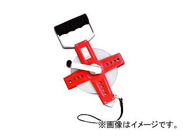 ヤマヨ/YAMAYO ホワイトリール 鋼製塗装巻尺 WR100 長さ:100m JAN:4957111184005