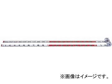 ヤマヨ/YAMAYO リボンロッド両サイド60E-1 現場記録写真用巻尺 R6A50 長さ:50m JAN:4957111596570