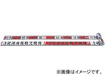 ヤマヨ/YAMAYO リボンロッド両サイド120E-2 現場記録写真用巻尺 R12B20 長さ:20m JAN:4957111597058