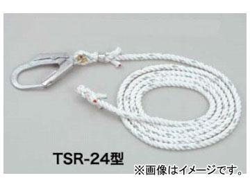 サンコー/SANKO タイタン/TITAN 垂直親綱 大型フック付き TSR-24-15m