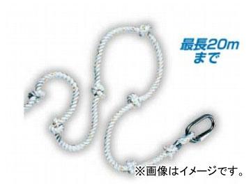 送料無料 国内即発送 サンコー SANKO ギフト タイタン 簡易避難ロープ φ16mmビニロンロープ 15m TITAN
