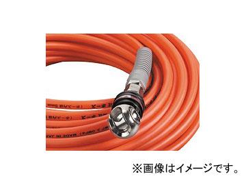 フジマック/FUJIMAC スムージーホース 高圧用 オートロックスウィングカプラ オレンジ 20m NHAL-520 JAN:4984546600978