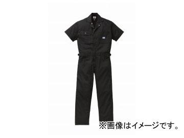 山田辰/YAMADA TATSU ディッキーズ/Dickies 半袖ツヅキ服 1012 ブラック サイズ:4L/5L
