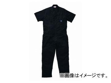 山田辰/YAMADA TATSU ディッキーズ/Dickies 半袖ツヅキ服 711 ネイビーブルー サイズ:4L/5L
