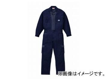 山田辰/YAMADA TATSU ディッキーズ/Dickies 年間物デニムツヅキ服(男性用) 903 ネイビーブルー サイズ:4L/5L