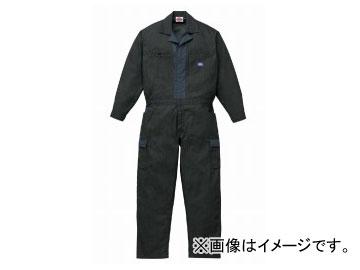 山田辰/YAMADA TATSU ディッキーズ/Dickies 春夏長袖ツヅキ服(男性用) 911 ブラック サイズ:4L/5L
