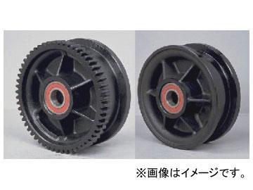 象印チェンブロック ダクタイル鋳鉄車輪 φ130 TF2F 品番:TF2F-000