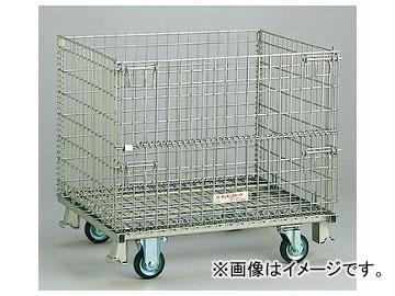 ユニット/UNIT メッシュパレット(キャスター・ストッパー付) 品番:375-15