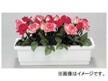 ユニット/UNIT 造花プランター1 バラ(赤/ピンク) 品番:935-01